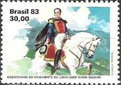 [The 200th Anniversary of the Birth of Simon Bolivar, 1783-1830, type BVT]