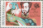 [The 150th Anniversary of the Death of Emperor Pedro I, 1798-1834, type BZH]
