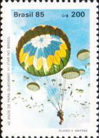 [The 40th Anniversary of Military Parachuting, type CAH]