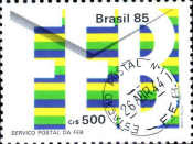 [The 40th Anniversary of the Brazilian Expeditionary Force Postal Service, 1984, type CCI]
