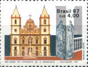 [The 400th Anniversary of the St. Francis's Monastery, Salvador, type CFM]