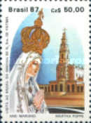 [Marian Year - Visit to Brazil of Statue of Our Lady of Fatima, type CFW]
