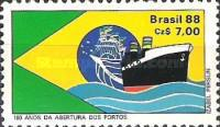 [The 180th Anniversary of the Opening of Brazilian Ports to Free Trade, type CGA]