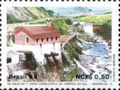 [The 100th Anniversary of Marmelos-o Power Station, First South American Hydro-electric Power Station, type CIW]
