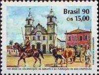 [The 400th Anniversary of the Colonization of Sergipe State, type CLV]