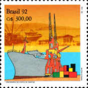 [The 100th Anniversary of Port of Santos, type COD]