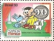 [The 150th Anniversary of the First Brazilian Stamps - No Value Expressed - Cartoon Characters, type CRH]