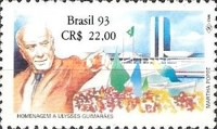 [The 1st Anniversary of the Death of Ulysses Guimaraes, 1916-1992, type CRR]