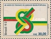 [The 40th Anniversary of the Brazil-Portugal Consultation and Friendship Treaty, type CSB]