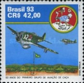 [The 50th Anniversary of the Formation of the Firsst Fighter Group, Brazilian Expeditionary Force, type CSJ]