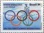 [The 100th Anniversary of the International Olympic Committee and the 100th Anniversary of the Rowing Federation, Rio Grande do Sul - No Value Expressed, type CSN]