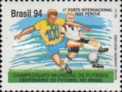 [The 100th Anniversary of the Football in Brazil and the Football World Cup - U.S.A., type CTH]