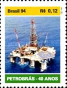 [The 40th Anniversary of Petrobras, State Oil Company, type CUB]