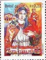 [The 800th Anniversary of the Birth of Saint Clare of Assisi, Founder of Order of Poor Clares, 1194-1253, type CUP]