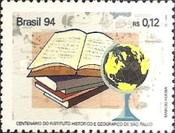 [The 100th Anniversary of the Historical and Geographical Institute, Sao Paulo, type CUT]