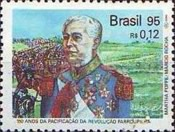 [The 150th Anniversary of Peace of Ponche Verde, Pacification of Farroupilha Revolution, and the 50th Anniversary of the Battle of Monte Castello, type CVD]