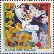 [The 100th Anniversary of the Brazil-Japan Friendship Treaty, type CVK]