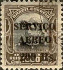 [Airmail - Official Stamps of 1913 Overprinted, type CX1]