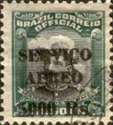 [Airmail - Official Stamps of 1913 Overprinted, type CX12]