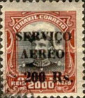 [Airmail - Official Stamps of 1913 Overprinted, type CX2]