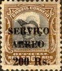[Airmail - Official Stamps of 1913 Overprinted, type CX3]