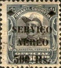 [Airmail - Official Stamps of 1913 Overprinted, type CX6]