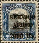 [Airmail - Official Stamps of 1913 Overprinted, type CX9]