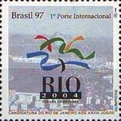 [Bid by Rio de Janeiro for the 2004 Olympic Games, type CYX]