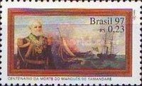 [The 100th Anniversary of the Death of Marquis of Tamandare, Naval Reformer, 1807-1897, type CZA]