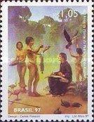 [The 400th Anniversary of the Death of Jose de Anchieta, Missionary, 1534-1597 and the 300th Anniversary of the Death of Antonio Vieira, Missionary, 1608-1697, type CZY]