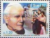 [The 2nd Anniversary of the World Meeting of Pope with Families, Rio de Janeiro, type DAE]