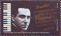 [The 100th Anniversary of the Birth of Lorenzo Fernandez, Composer, 1897-1948 and the 100th Anniversary of the Birth of Francisco Mignone, Composer, 1897-1986, type DAL]