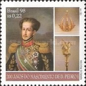 [The 200th Anniversary of the Birth of Emperor Pedro I, 1798-1834, type DFN]