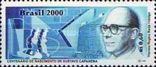 [The 100th Anniversary of the Birth of Gustavo Capanema Filho, Politician, 1900-1985, type DLE]