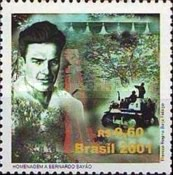 [The 100th Anniversary of the Birth of Bernado Sayao, Politician and Construction Pioneer, 1901-1959, type DPL]