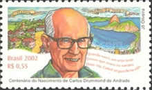 [The 200th Anniversary of the Birth of Carlos Drummond de Andrade, type DTM]
