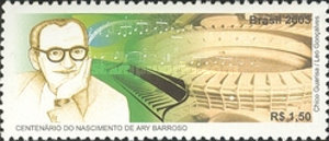 [The 100th Anniversary of the Birth of Ary Barroso, type DVM]
