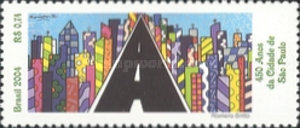 [The 450th Anniversary of the City of Sao Paulo, type DVV]