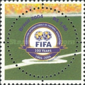 [The 100th Anniversary of the founding of FIFA, type DWD]