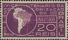 [The 400th Anniversary of the Colonization of Brazil, type DX]