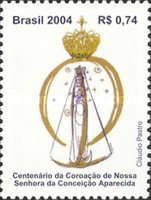[The 100th Anniversary of the Coronation of Our Lady of Immaculate Conception - Aparecida, type DXE]