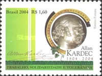 [The 200th Anniversary of the Birth of Allan Kardec, type DXF]