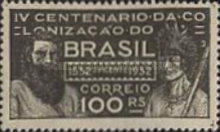 [The 400th Anniversary of the Colonization of Brazil, type DY]
