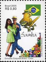 [Son and Samba - Brazil and Cuba Joint issue, type DYJ]