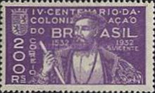 [The 400th Anniversary of the Colonization of Brazil, type DZ]
