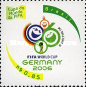 [Football World Cup - Germany, type DZC]