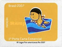 [The 15th Anniversary of the Pan American Games Rio - Self Adhesive Stamps, type EAA]