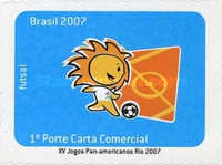 [The 15th Anniversary of the Pan American Games Rio - Self Adhesive Stamps, type EAC]