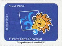 [The 15th Anniversary of the Pan American Games Rio - Self Adhesive Stamps, type EAE]