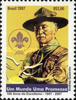 [The 100th Anniversary of Scouting, type EAS]